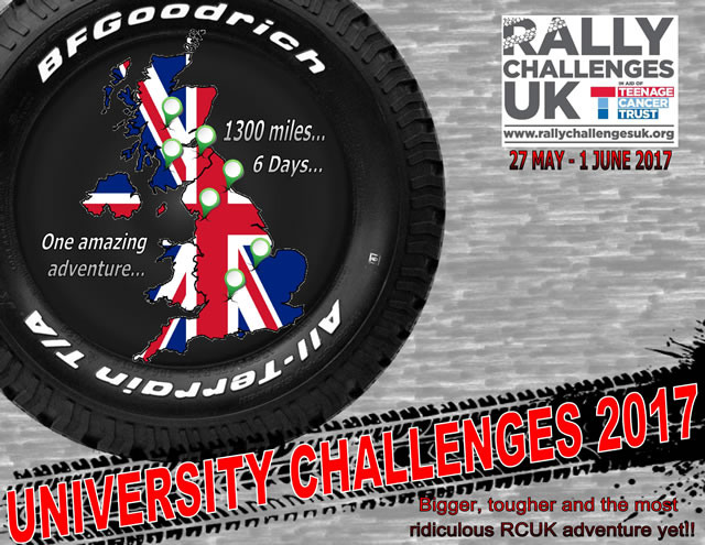 University Challenges 2017 rally